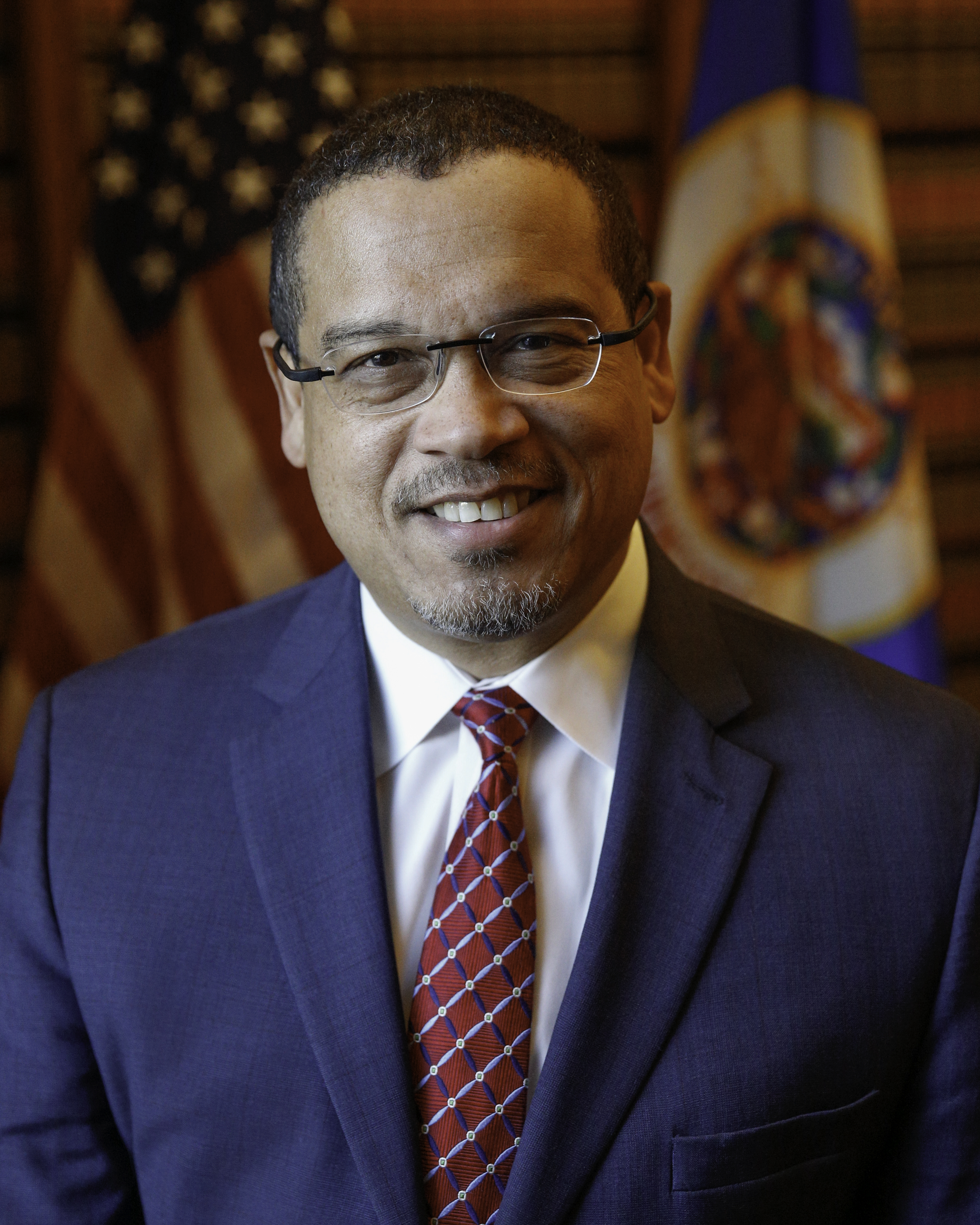 Portrait of Minnesota Attorney General Keith Ellison